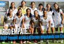 Amargo empate para Lobos BUAP Femenil en su debut en casa
