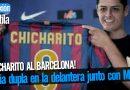 Chicharito haría dupla en la delantera junto con Messi