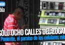 La 8 Poniente, el paraíso de los celulares robados en Puebla