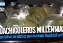 Ocupan bolsas de plástico para trasladar Huachicol en Puebla