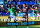 León ruge en Puebla