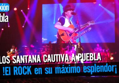 Carlos Santana pone a Rockear a los Poblanos.