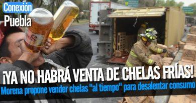 Morena propone vender chelas al tiempo para desalentar consumo