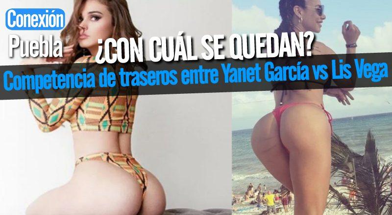 Competencia de traseros entre Yanet García vs Lis Vega