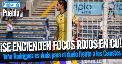 Toño Rodríguez es duda para el duelo frente a los Celestes