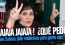 Carmen Salinas pide medicinas para gente con VHS