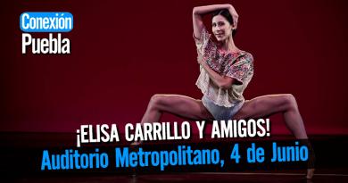 Elisa Carrillo en Puebla