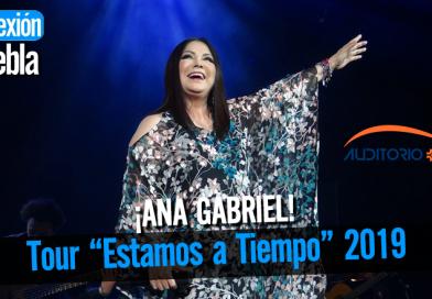 Ana Gabriel regresa a Puebla