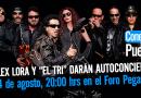 """Alex Lora y """"El Tri"""" darán Autoconcierto"""