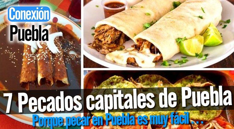 Los 7 pecados capitales de Puebla