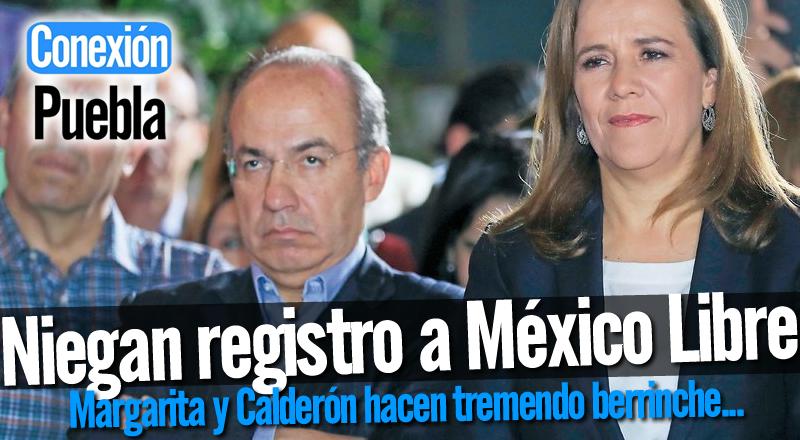 Niegan registro a México Libre