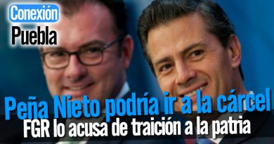 Peña Nieto podría ir a la cárcel