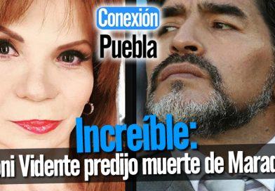 Mhoni Vidente predijo muerte de Maradona