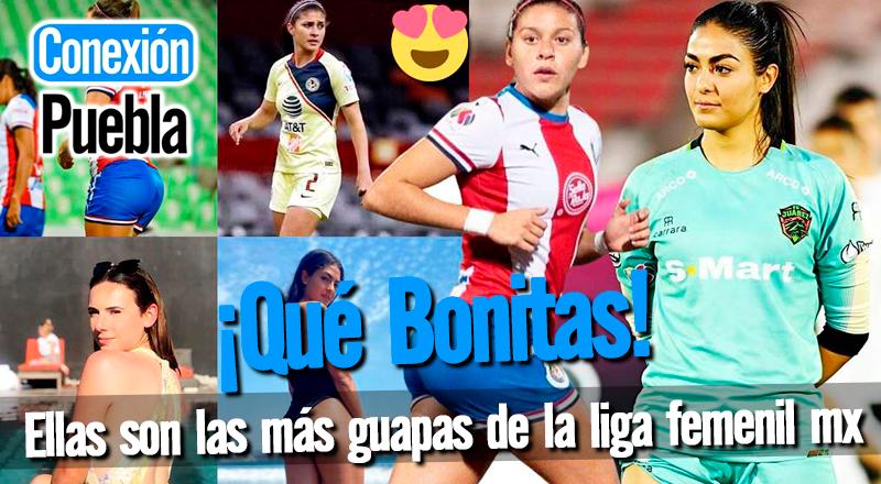Las jugadoras más bonitas de la Liga Femenil MX