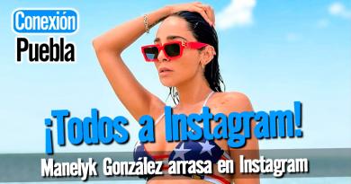 Manelyk González arrasa en Instagram con sus últimas 5 publicaciones en redes